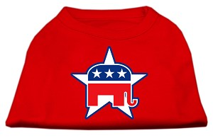 Republican Screen Print Shirts Red XXXL(20)